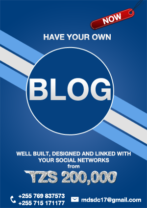 Get your BLOG now!!!