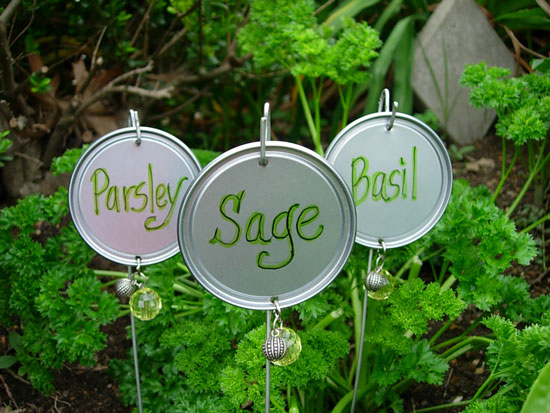 adventures of a homesteading city girl homemade garden markers