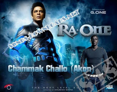 Free Direct MP3 Links! To Download Akon - Chammak Challo (Ra.One) Song