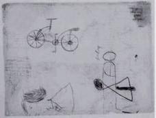 Bicicleta. Leonardo da Vinci. Codex Atlanticus