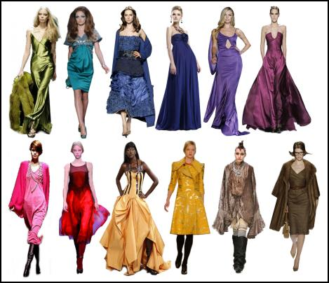Fashion Glamour Importance Of Colour In Fashion