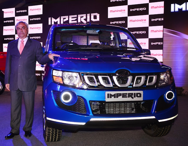 Mahindra Imperio Launch