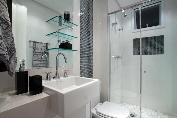 Casa da Anita Nichos em banheiros -> Banheiro Pequeno C Nicho