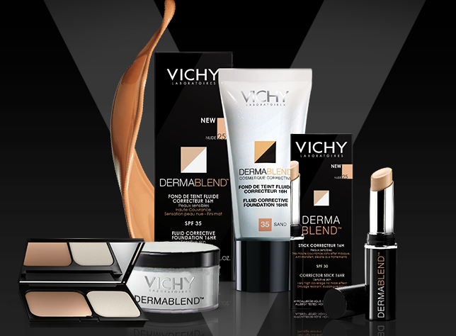 vichy have upgraded their dermablend range due to the success of the existing range and have added new products to the line up as well as reformulating a - New Product 2014