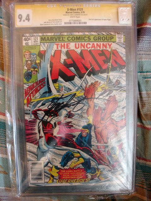 Uncanny X-Men #121 CGC 9.4 Signature Series Signed by Chris Claremont
