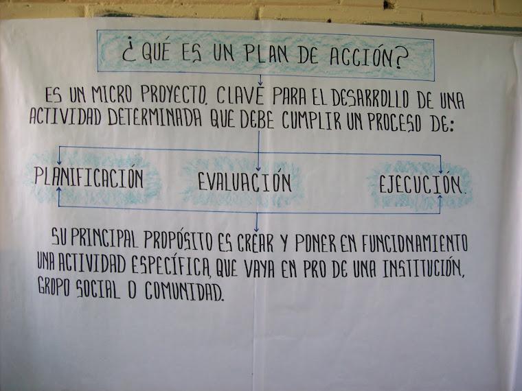"""TALLER """"PLANES DE ACCIÓN"""""""