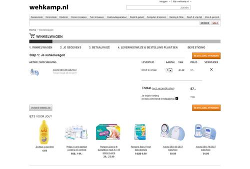Hoe kan ik bestellen bij Wehkamp.nl?