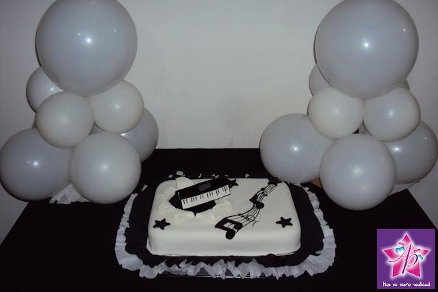 Torta Músico
