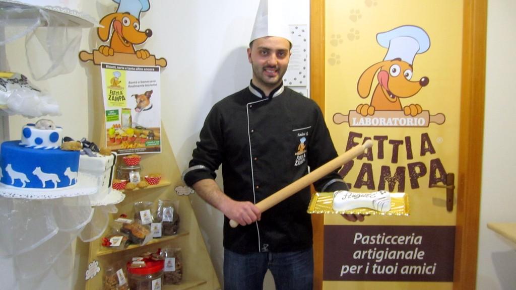 Andrea Guastella, pasticciere