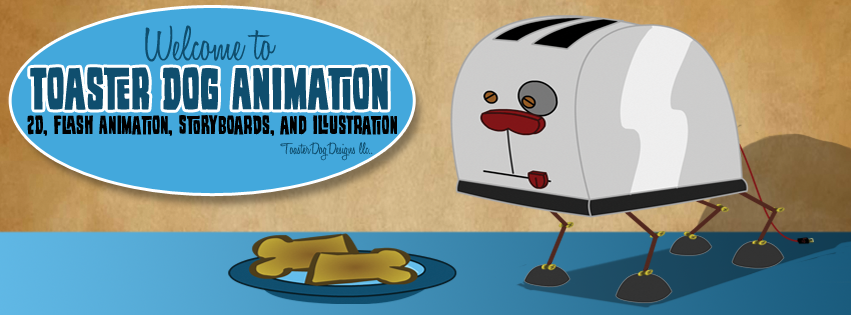 Toaster Dog Animation