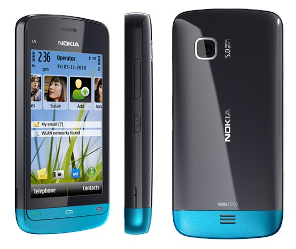 Nokia C5-03 Juegos Aplicaciones, Fondos Y Más