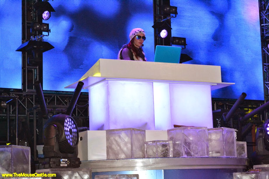 DJ Cool mixes the tunes at Freeze the Night