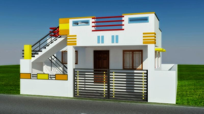30 Feet House Front Elevation : Real value land promoters and builders in coimbatore