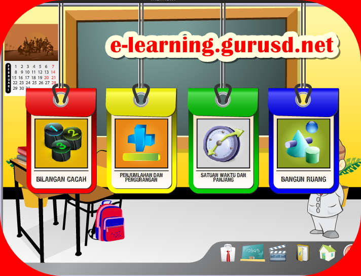 media pembelajaran animasi flash matematika sd