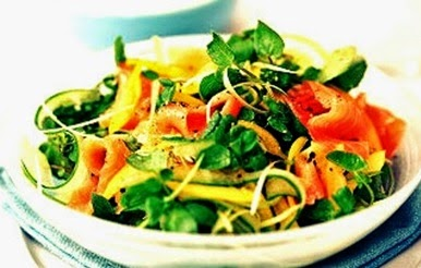 Salad With Salmon Recipes