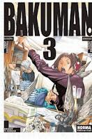 Bakuman 3,Tsugumi Ōba, Takeshi Obata,Norma Editorial  tienda de comics en México distrito federal, venta de comics en México df