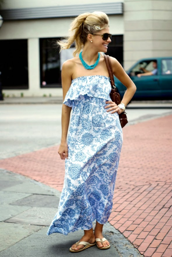 Charleston SC street style hair up straples dress womens fashion big watch southern fashion 590