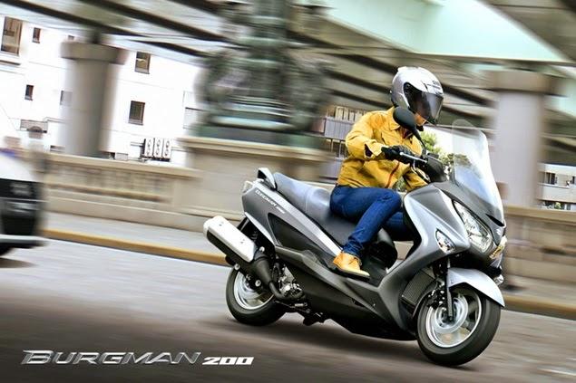2014 suzuki burgman 200 review new motorcycle review