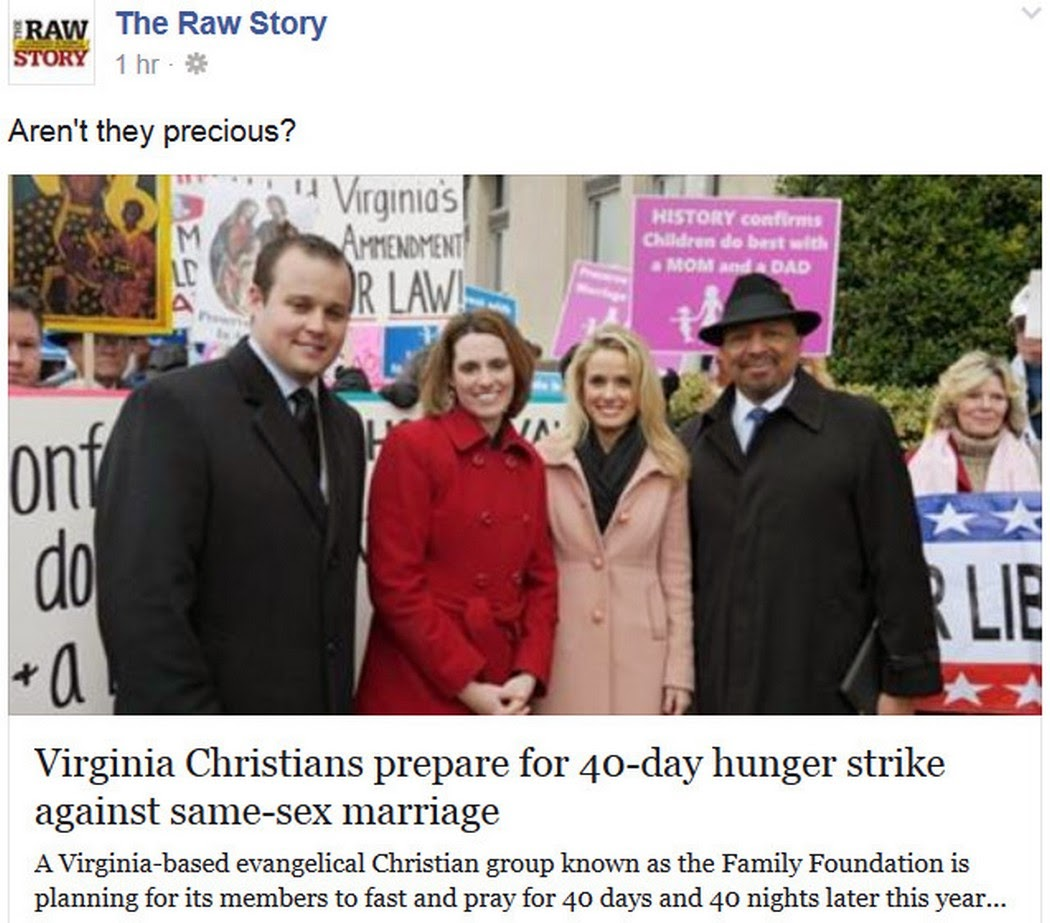 Christian Group Plans 40-Day Hunger Strike Against Marriage Equality