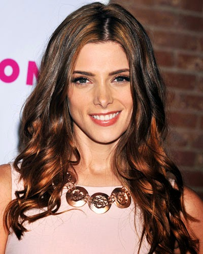 Ashley Greene's Cinnamon Highlights