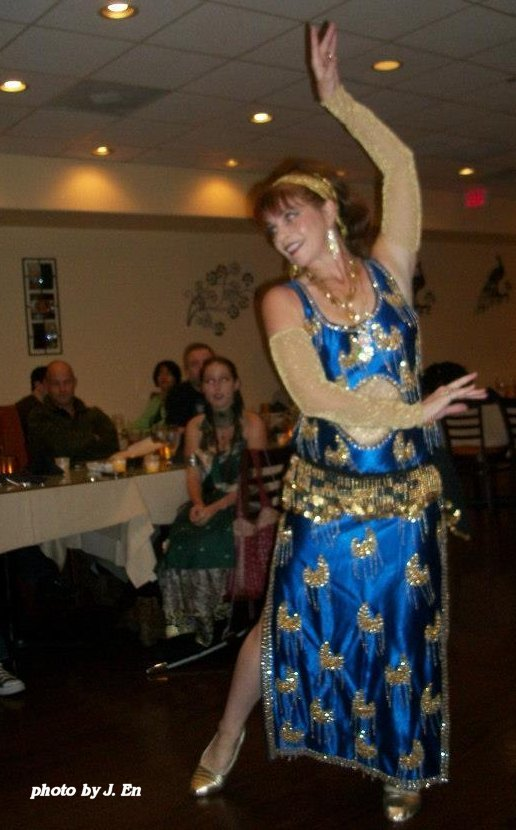 bellydancing at the hafla