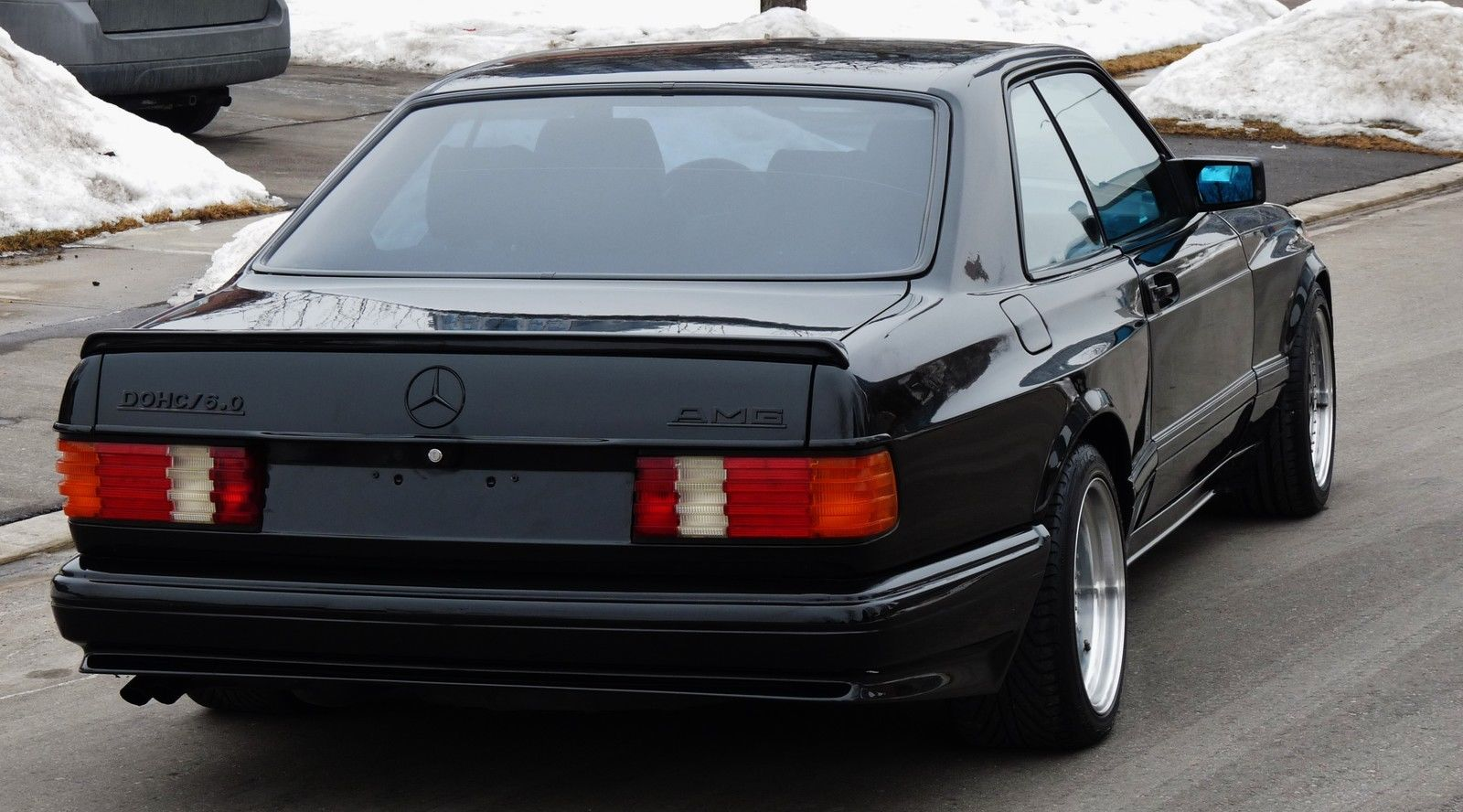 1990 mercedes-benz 560sec amg 6.0 widebody is badass, but is it