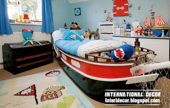 Cool sports kids bedroom themes ideas and designs for Cool kids bedroom designs