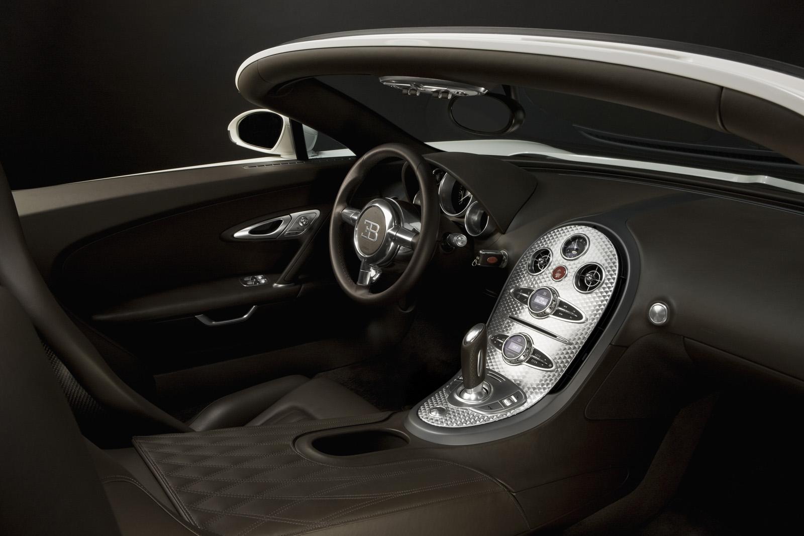 Cool Cars Bugatti Veyron Interior
