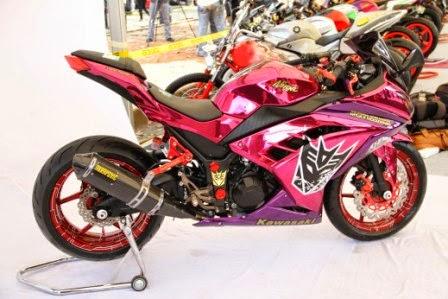 Modifikasi Ninja 250 Fi, Gambar Motor Ninja terbaru terpopuler