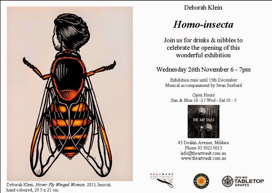 Solo exhibition at the Art Vault, 26 November-15 December