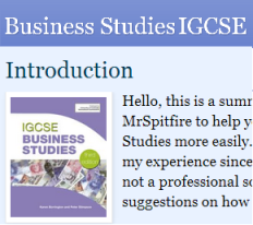 Business Studies IGCSE