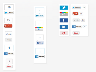 Socialite Powered Floating Share Buttons