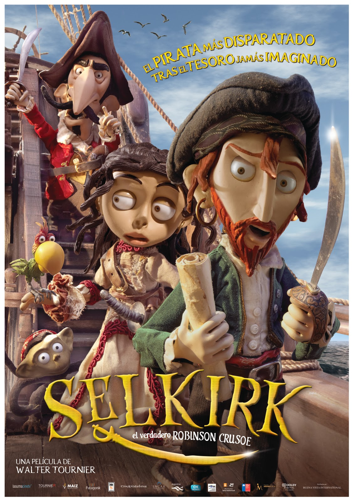 Selkirk: El verdadero Robinson Crusoe