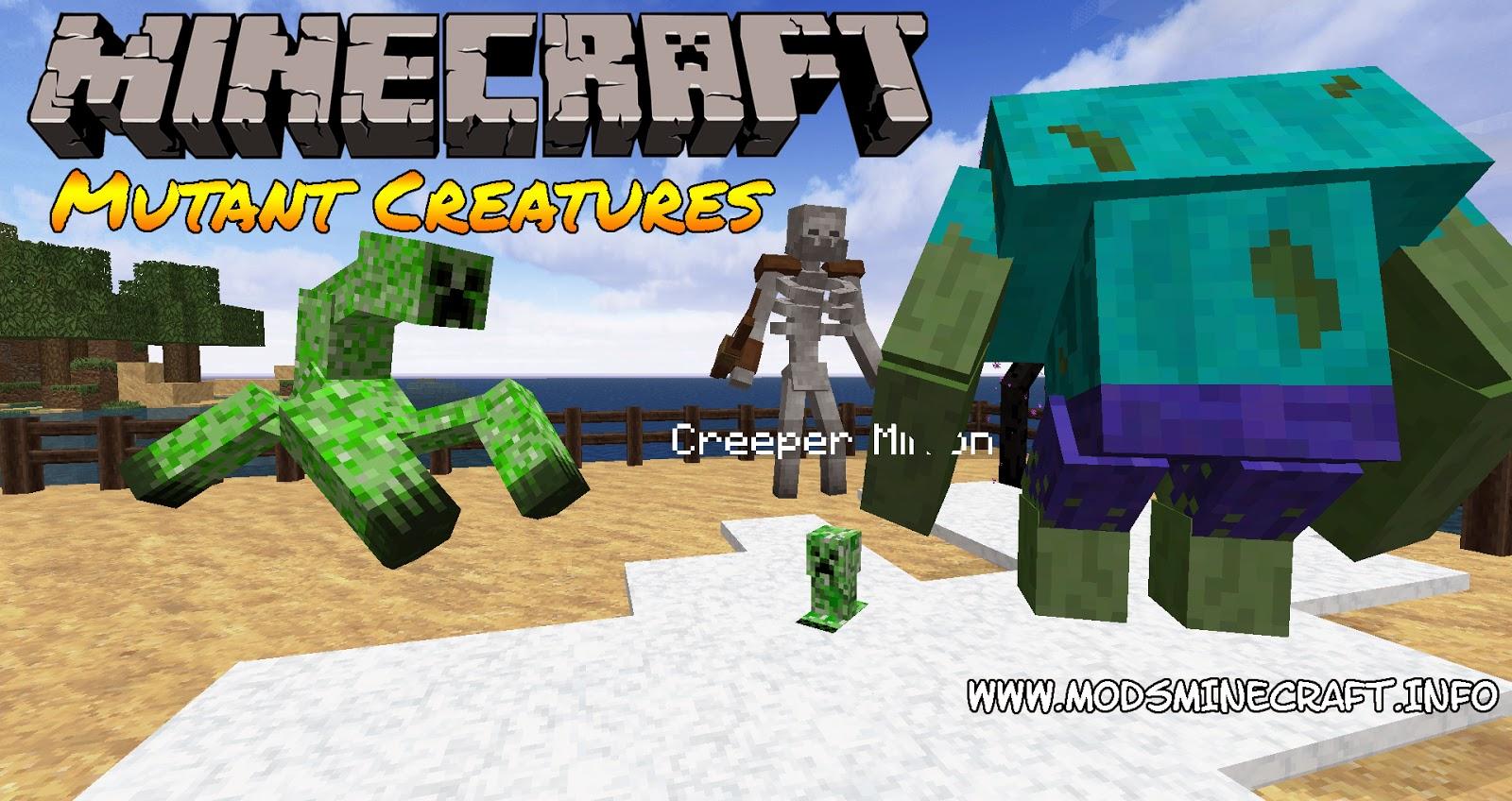 Mutant Creaturas Mod para Minecraft 1.7.2, Mutant Creaturas Mod, Mutant Creaturas 1.7.2, minecraft Mutant Creaturas Mod, minecraft Mutant Creaturas 1.7.2, minecraft 1.7.2, minecraft mods 1.7.2, mods para minecraft, mods para minecraft 1.7.2, mods minecraft, minecraft mods, cómo instalar mods, cómo instalar mods minecraft, minecraft cómo instalar mods