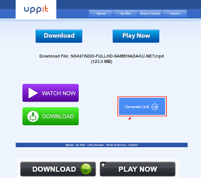 Cara Download File di UPPIT
