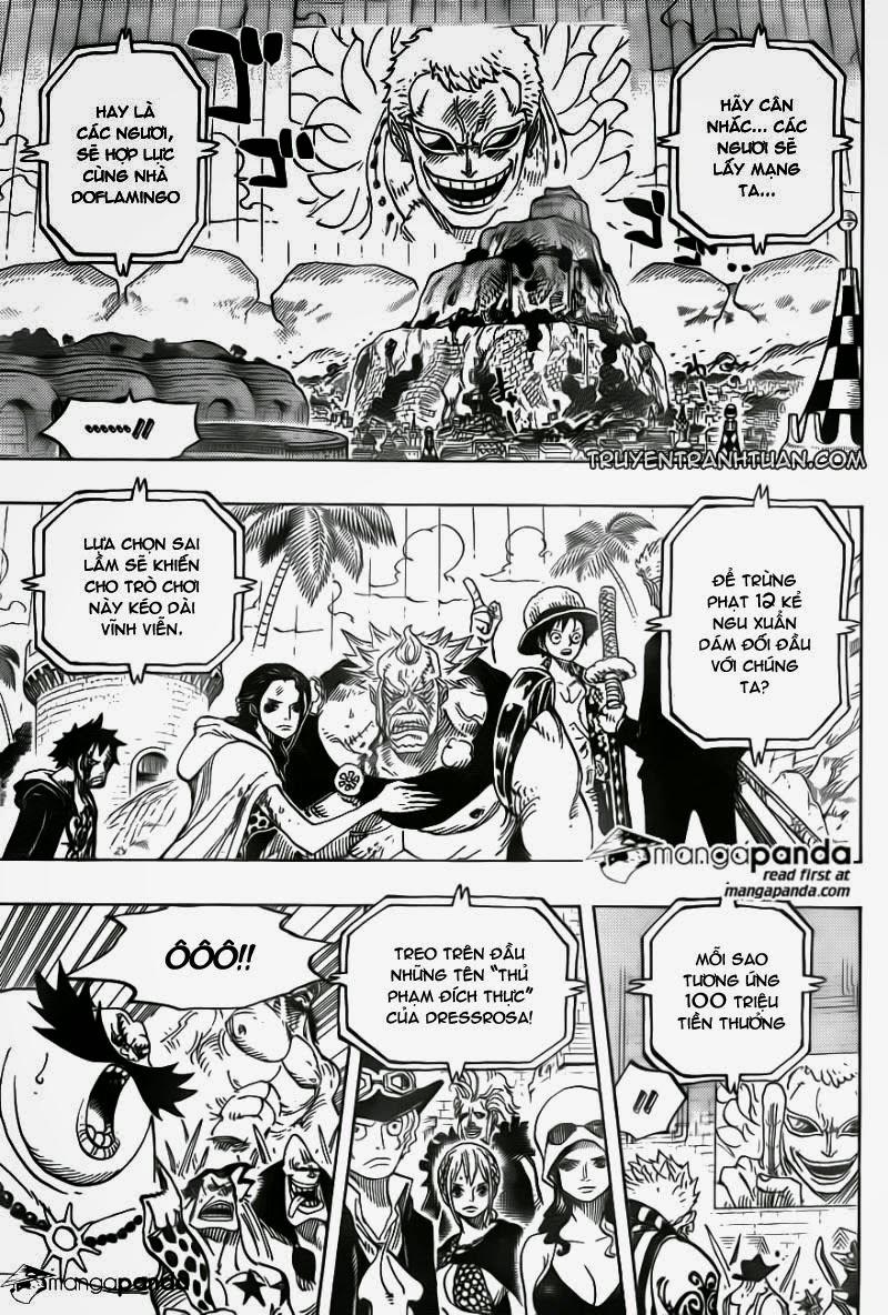 one piece truyentranhtuan com chap 746 trang 009, One Piece chap 746   NarutoSub