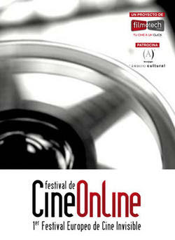 Cartel del primer Festival Europeo de Cine Invisible
