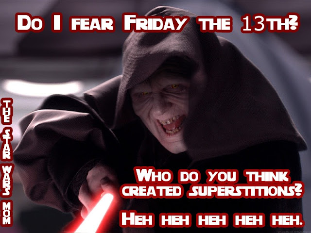Star Wars Darth Sidious Friday the 13th