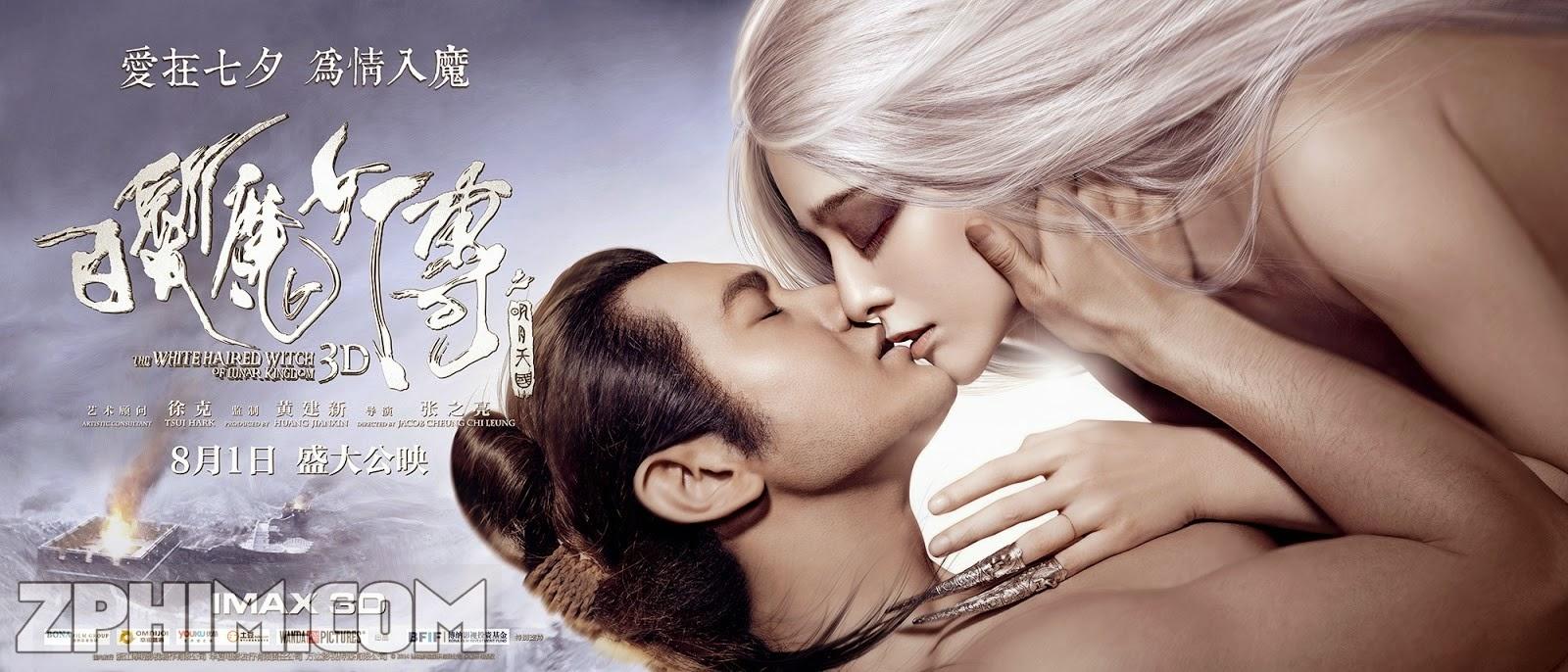 Ảnh trong phim Tân Bạch Phát Ma Nữ - The White Haired Witch of Lunar Kingdom 1
