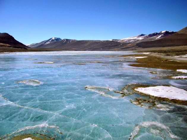 Antarctica's Lake Vida