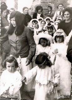 Jueves de Corpus de 1964 en Candelario salamanca