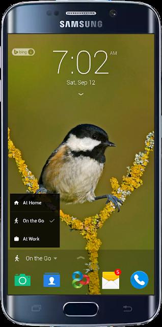 மைக்ரோசாப்ட் Android Lock Screen