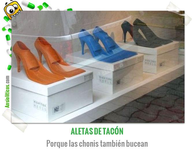 Chiste de Chonis Aletas de Tacón