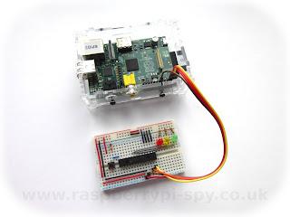 Raspberry Pi com o MCP23017
