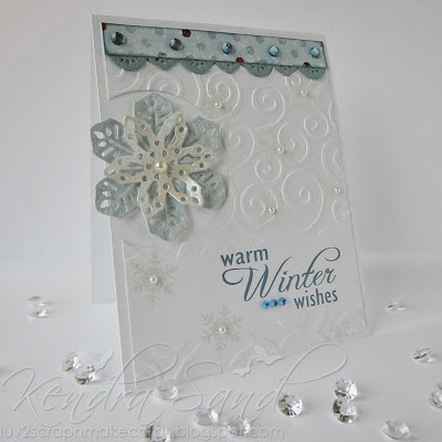 Inspired by Stamping, Kendra Sand, Winter Wonderland, Christmas Cards