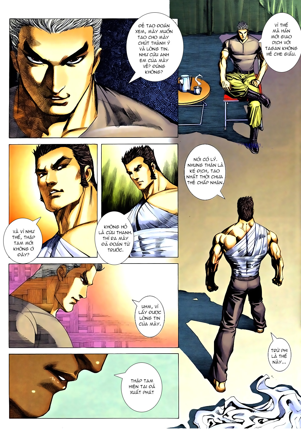 Á Châu Hùng Sư Chap 6 - Next Chap 7