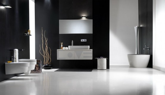 Home Design: Modern Bathroom Design 02