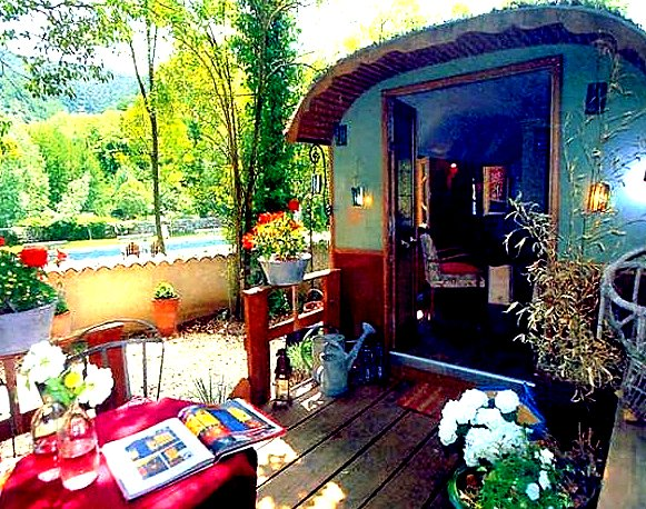the flying tortoise  a bold bright and beautifully bohemian tiny house on wheels