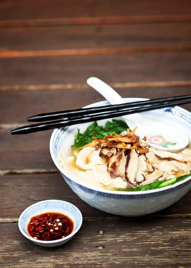 Soup Base Pan Mee 3 | Malaysian Recipes