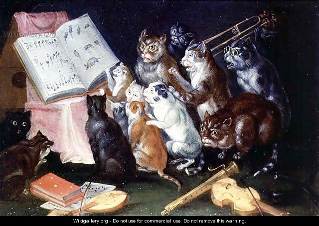 Mister Tristan: Cats in Art: A Musical Gathering of Cats (van Kessel)